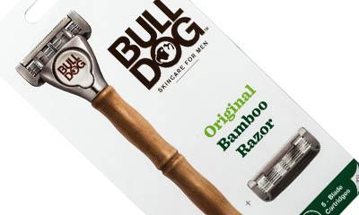 Free Bulldog Bamboo Razor