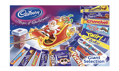 Free Cadbury Chocolate Box