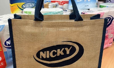Free Canvas Shopping Bag