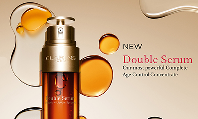 Free 3 Day Clarins Serum Sample