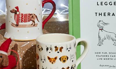 Free Dog Print Cups
