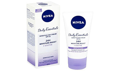Free Nivea Sensitive Day Cream