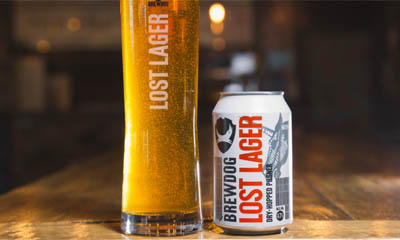 Free Pint of Brewdog Lost Lager