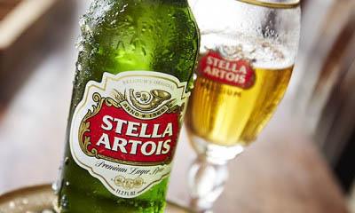 Free Pint of Stella Artois