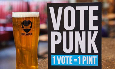 Free Pint on Election Day