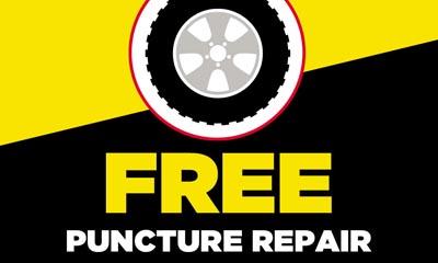 Free Puncture Repair