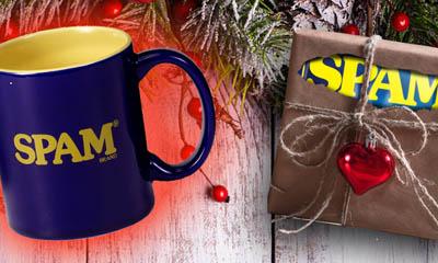 Free Spam Mug