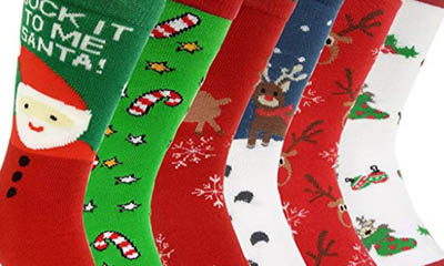 Free Walkers Christmas Socks