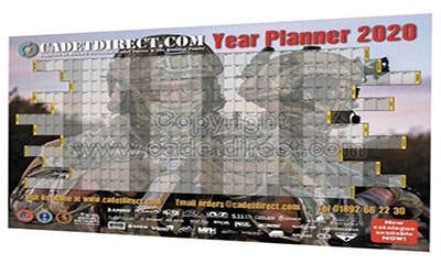Free Year Planner 2020