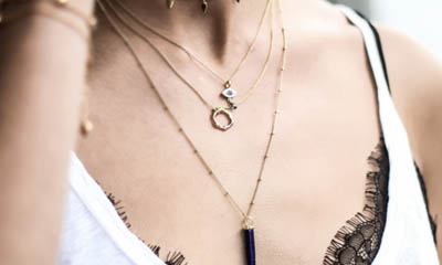 Win 3 Missoma Necklaces with Odeon