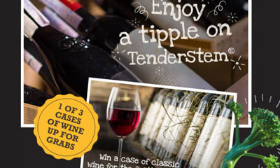 Win a Case of Wine with Tenderstem