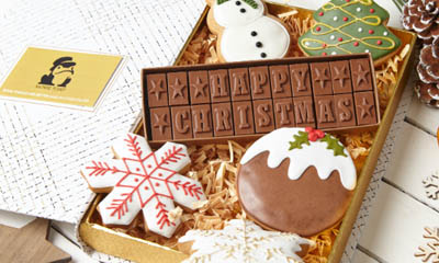 Win a Christmas Letterbox Chocolate Hamper