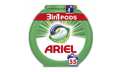 Win a Year's Supply of Ariel 3in1 Pods
