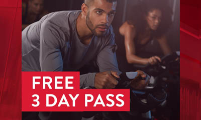 Free 3 Day Pass at Fitness First Health Clubs