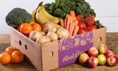 Free Abel & Cole Mixed Fruit & Veg Boxes