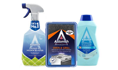 Free Astonish Oven Cleaner