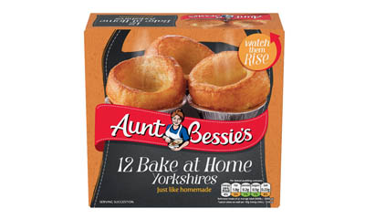 Free Aunt Bessie's Yorkshire Puddings