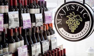 Free Bottle of Majestic Wine