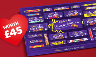 Free Cadbury Valentine Selection Box