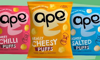 Free Cheesy Puffs Ape Snacks