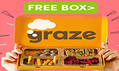 Free Delicious Snack Box (Worth £4.49)