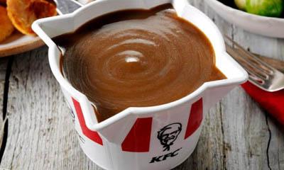 Free KFC Regular Gravy Tub