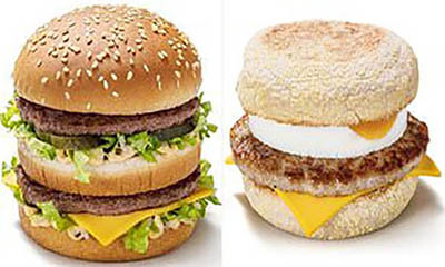 Free McMuffins and Big Mac or Veg Deluxe for 99p