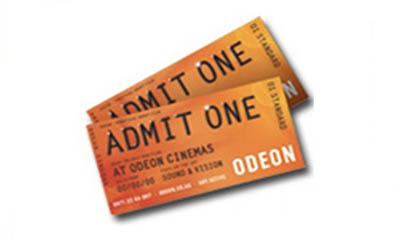 Free Odeon Cinema Ticket