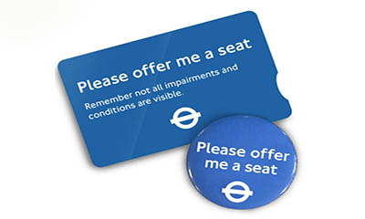"Free ""Offer Me A Seat"" Badge"
