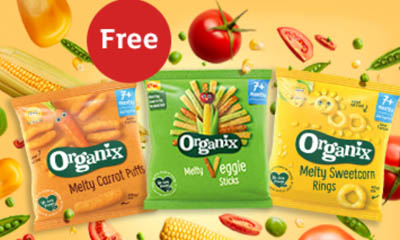 Free Organix Melty Veggie Sticks