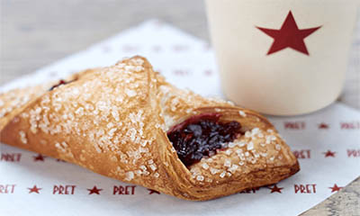Free Very Berry Croissant