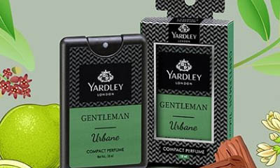 Free Yardley London Pocket Spray Fragrance