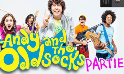 Free Andy & the Odd Socks Party Kit