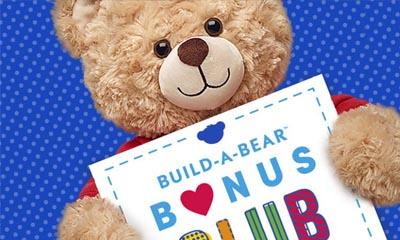 Free Build-A-Bear – Worth £12