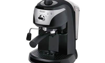 Free Delonghi Espresso & Cappuccino Coffee Machines