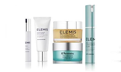 Free Elemis Beauty Products