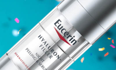 Free Eurcerin Hyaluron-Filler Night Peeling & Serum
