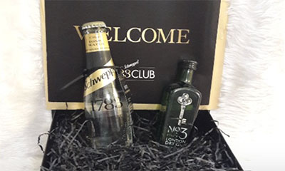 Free Schweppes Gin & Tonic