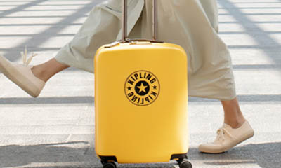 Win Kipling 4 Wheeled Hardshell Luggage