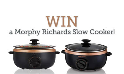 Win a Morphy Richards Sear & Stew slow Cooker