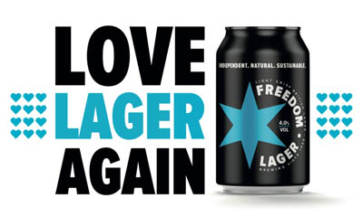 Win a Year's Supply of Freedom Lager